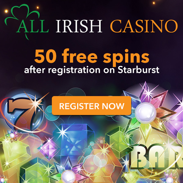 Get 10 Free Spins on registration